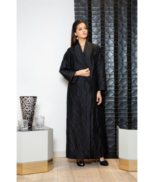 Coat style abaya in light ...