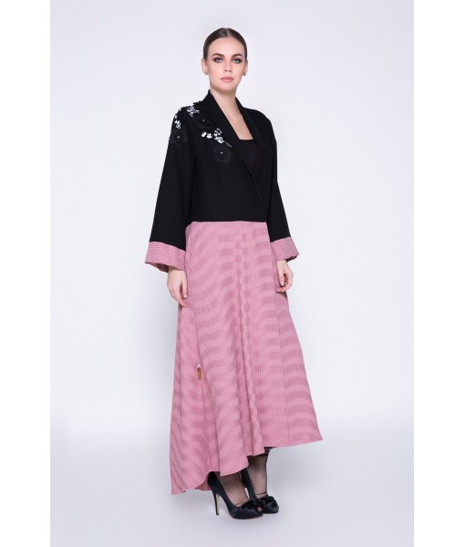 Pleats to meet you- two tone ...
